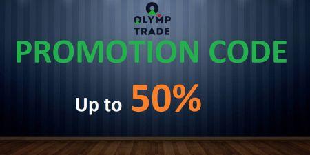 Olymp Trade پرومو کوڈ - 50٪ تک بونس